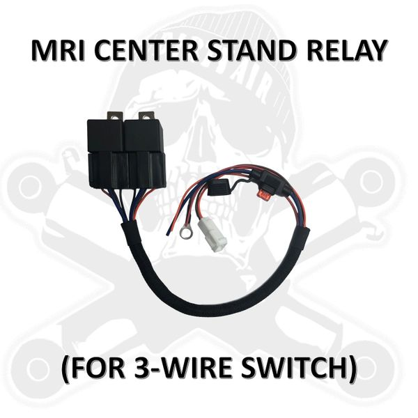 DIRTY AIR Reverse-Polarity relay pack for 3-wire switch to control MRI center stand