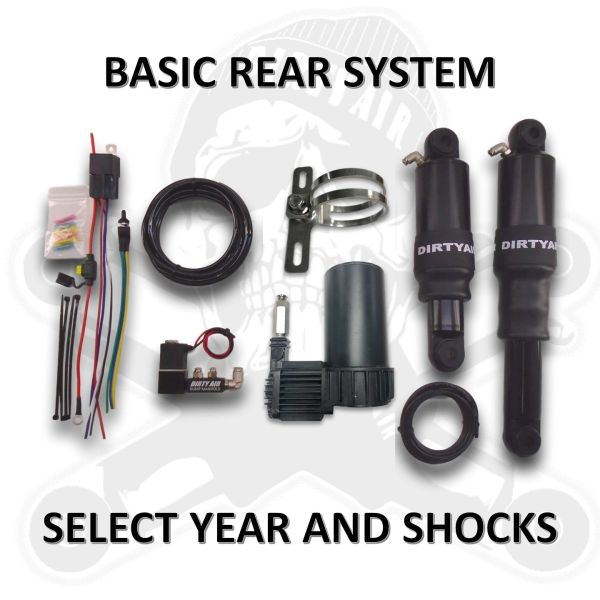 *NEW* DIRTY AIR Rear Air Suspension System