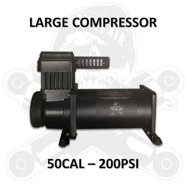 • DIRTY AIR Large Compressor - 50CAL 200PSI