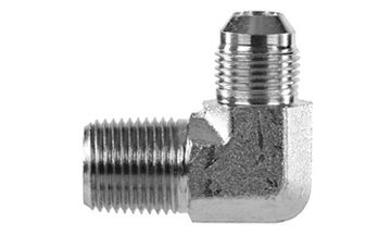 "1/8""MNPT x 1/4"" JIC - Stainless Steel Tank Fitting"