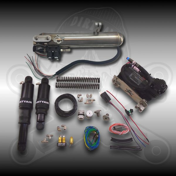 """DIRTY AIR """"El Grande"""" Front and Rear Complete Fast-Up Tank System"""