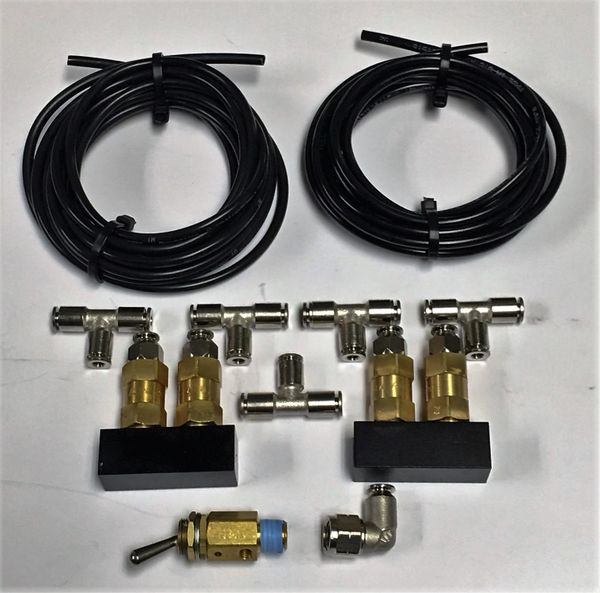 DIRTY AIR F+R Safety Valve Kit - for VU4 or DIRTY AIR 8-valve system