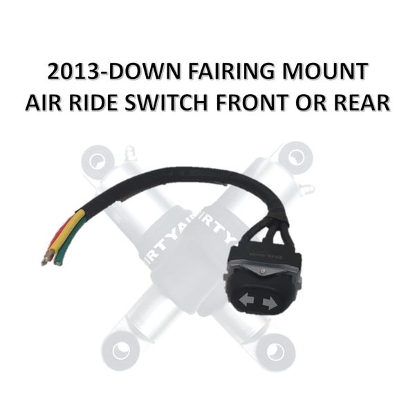 Rocker Switch - 2013-Down Fairing Mount