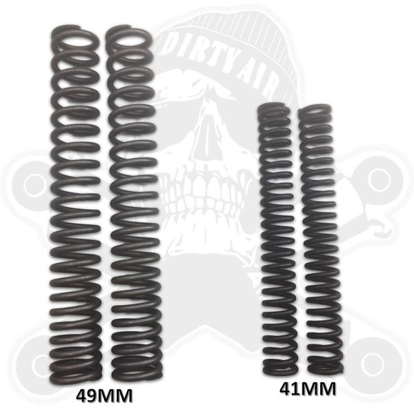 DIRTY AIR Front Coil Springs Pair