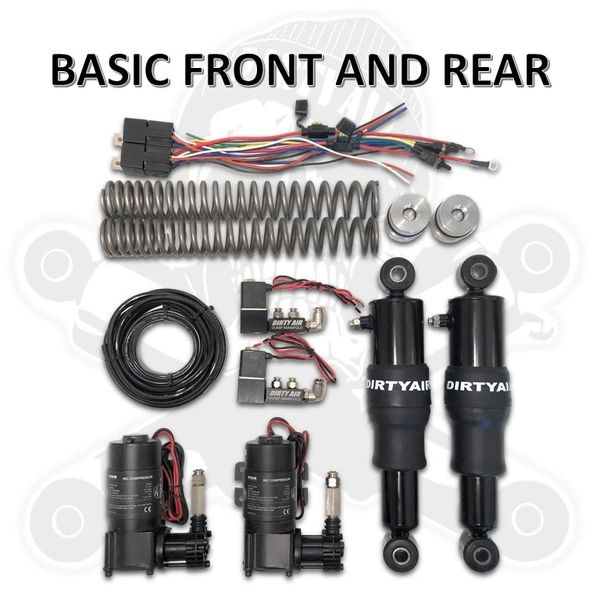 DIRTY AIR Basic Front and Rear Air Suspension System
