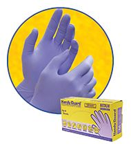 HANDY GUARD® 3.5 MIL VIOLET NITRILE POWDER FREE (PF) GLOVES