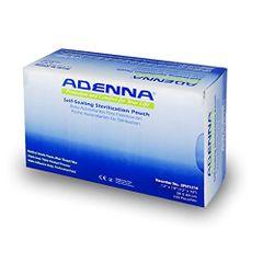"""ADENNA® Self-Sealing Sterilization Pouches 12"""" X 17 3/4"""" 100 per box"""