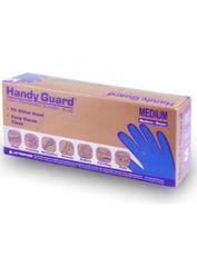 HANDY GUARD® Blue Powdered Vinyl Gloves