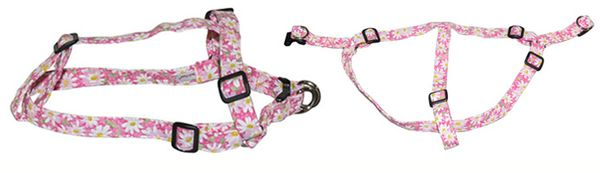 Elmo's Closet Step-In Harness - Floral Patterns