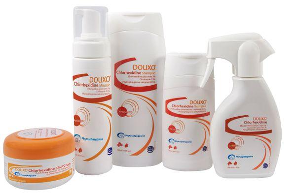 DOUXO® Chlorhexidine Product Line