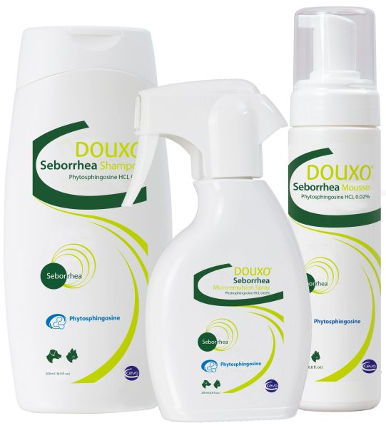 DOUXO® Seborrhea Product Line