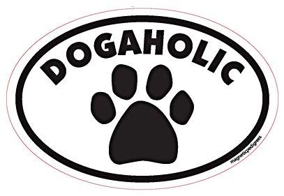 Dogaholic Magnet
