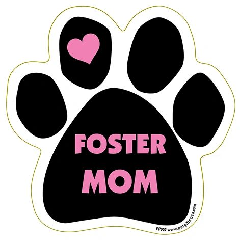 Foster Mom Paw Magnet