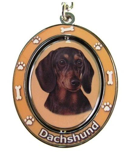 Keychain - Shorthaired Dachshund