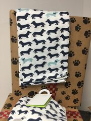Dachshund Tea Towel Set C