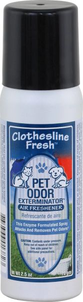 Pet Odor Air Freshener, 2.5 Oz