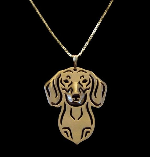 Short Hair Dachshund Necklace