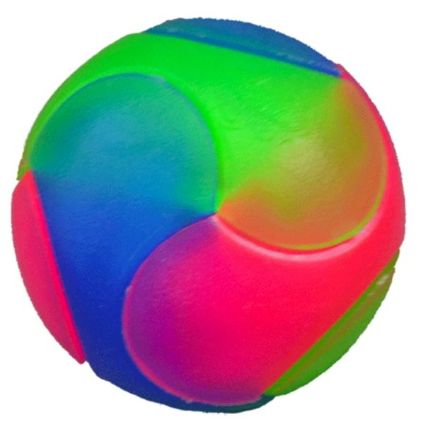Lighting Bouncy Geo Ball