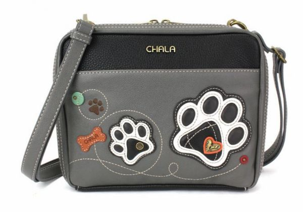 Chala Mini Crossbody Bag - White Paw