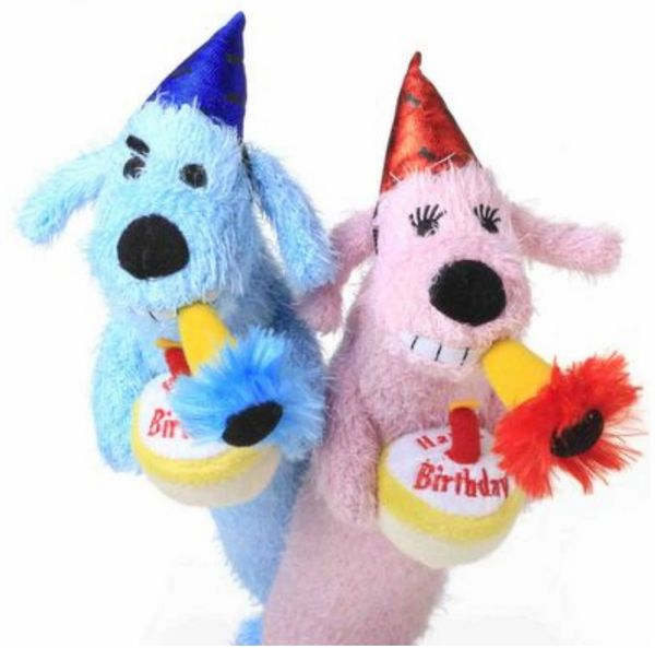 Happy Birthday Loofa Toys