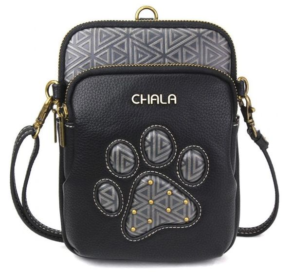 Chala UNI Cellphone Xbody - Pawprint - Black