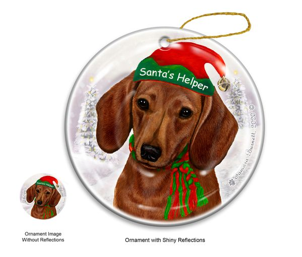 Holiday Ornament - Santa's Helper