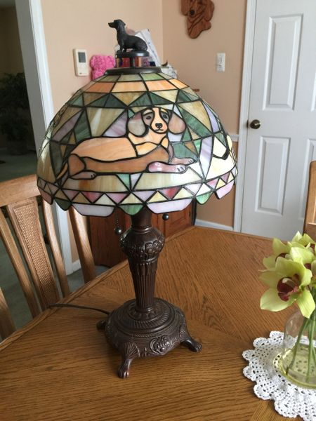 Doxie Father's Day Lamp Raffle 2021