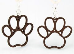 DRBC Paw Print Earrings