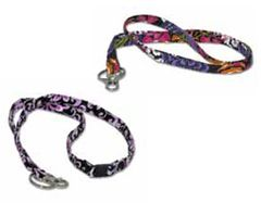 Elmo's Closet Breakaway Lanyard - Floral Patterns