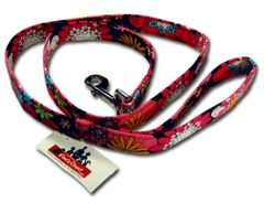 Elmo's Closet Leash - Floral Patterns