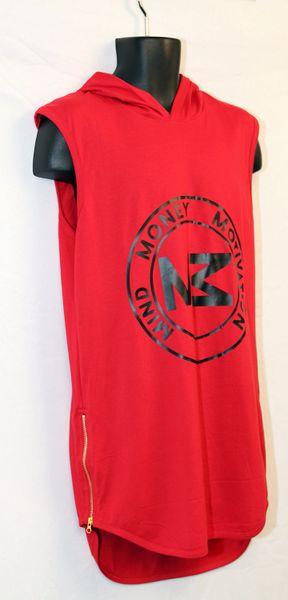M3 Red Sleeveless Shirt