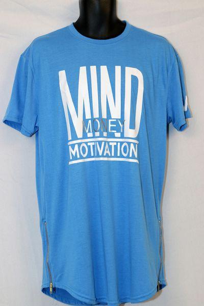 M3 Sky-Blue Short Sleeve -Yezzy Style