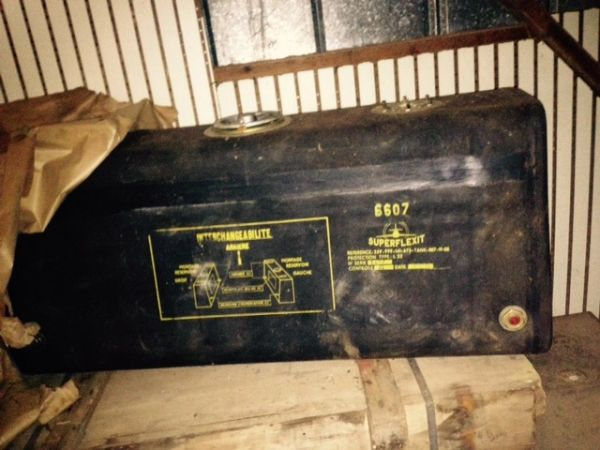 1/2 Track fuel tanks , French made post war. NOS.