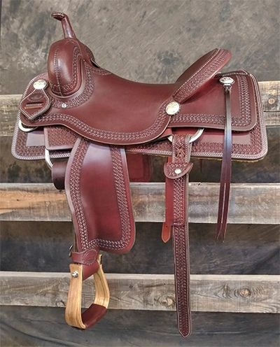 "*BW Working Cow Horse 16"" (In Stock)"