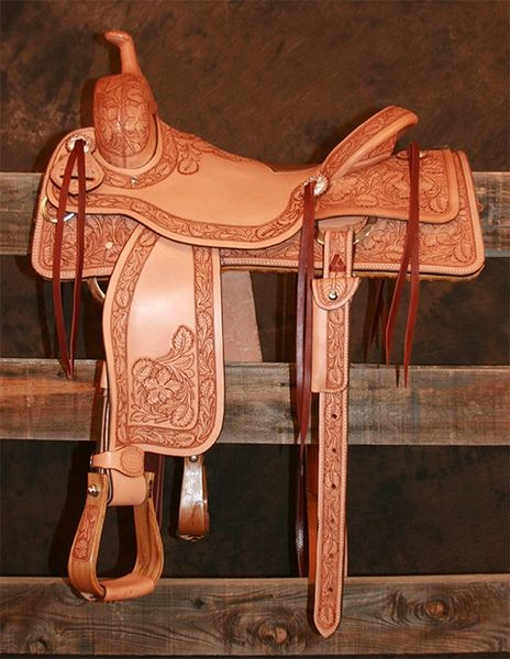 Cow Horse - 7/8 Sheridan Tooling (Light Oil)