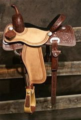 BW Barrel Racer - Wave with Sheridan Tooling