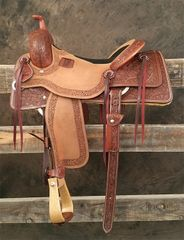 Cow Horse - 7/8 Oak Tooling