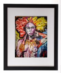 Fierce 2 Framed Print