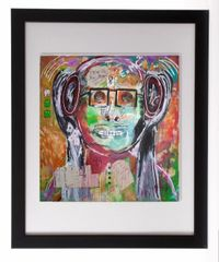 Head Bang Zone Framed Print