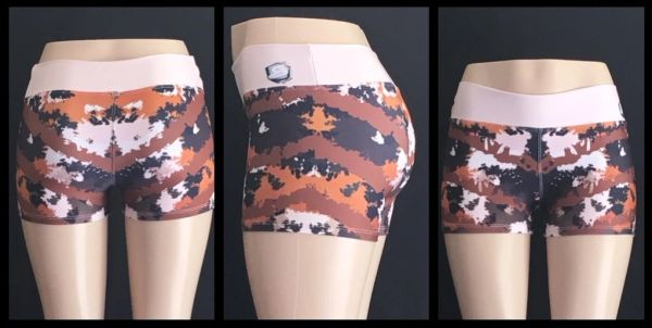 S2 - Camo Compression Shorts