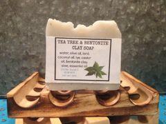 Tea Tree and Bentonite Clay Soap