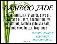 Bamboo Jade Soap