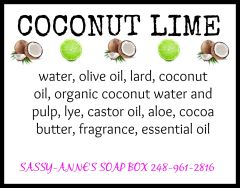 Coconut Lime Soap