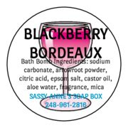 Blackberry Bordeaux Bath Bomb