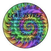 Love is Free Bath Bomb