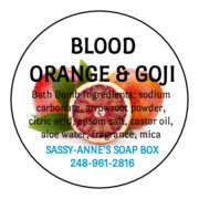 Blood Orange & Goji Bath Bomb