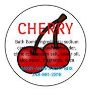 Michigan Black Cherry Bath Bomb