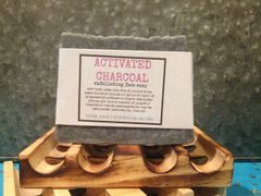 Activated Charcoal with Himalayan Pink Salt Soap