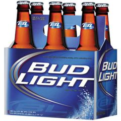 Bud Light - 6-pack bottles