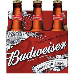 Budweiser - 6-pack bottles